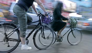 Tagungstransfer mit dem Rad in Braunschweig